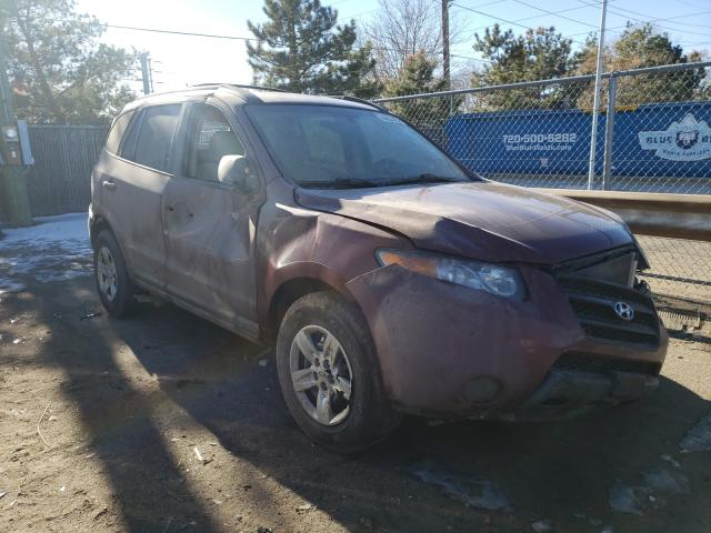 Hyundai salvage cars for sale: 2009 Hyundai Santa FE G