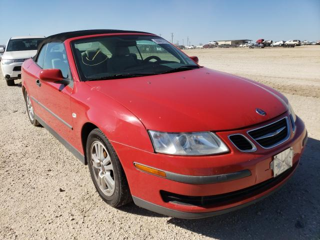Saab salvage cars for sale: 2005 Saab 9-3 Linear