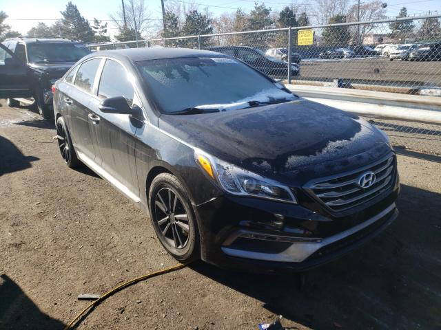 Hyundai salvage cars for sale: 2015 Hyundai Sonata Sport