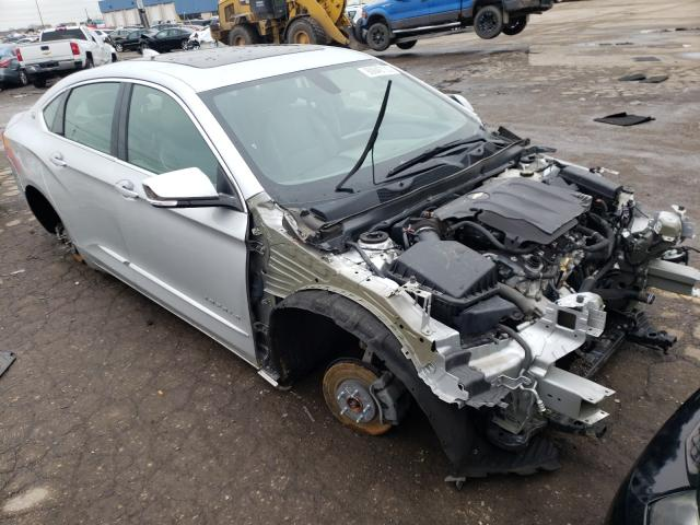 Salvage cars for sale from Copart Woodhaven, MI: 2018 Chevrolet Impala PRE