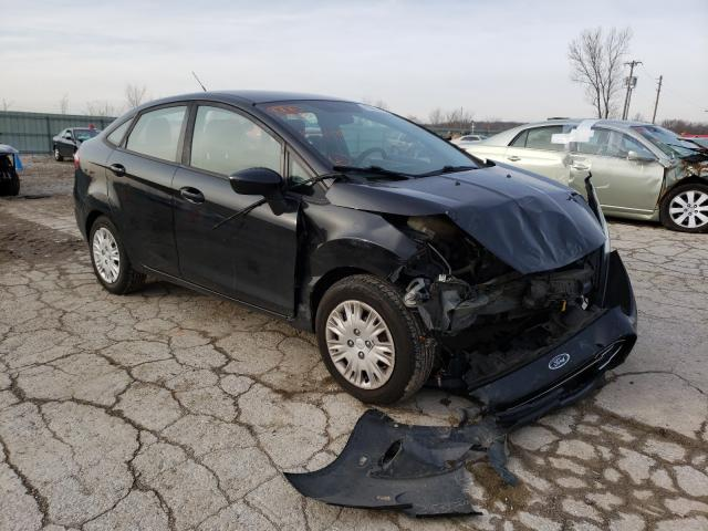 Salvage cars for sale from Copart Kansas City, KS: 2014 Ford Fiesta S