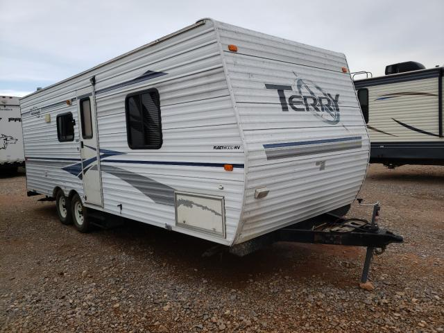 Terry salvage cars for sale: 2004 Terry Trailer