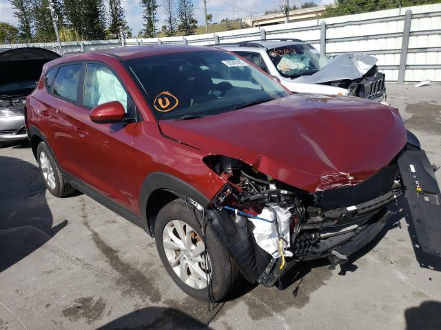 Salvage cars for sale from Copart Miami, FL: 2020 Hyundai Tucson SE