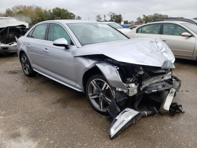 Salvage cars for sale from Copart Riverview, FL: 2018 Audi A4 Premium