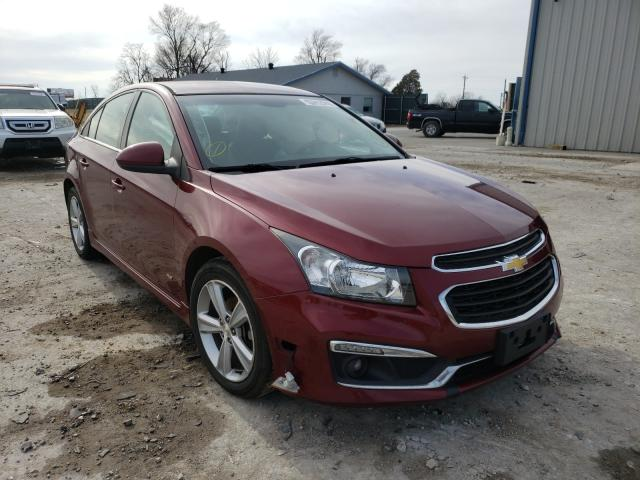 Salvage cars for sale from Copart Sikeston, MO: 2015 Chevrolet Cruze LT