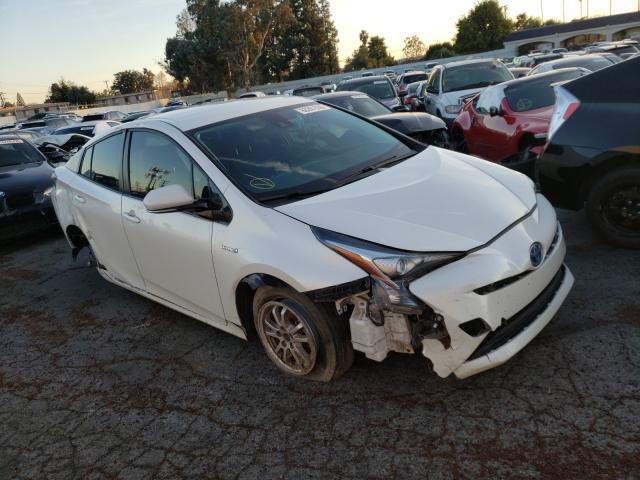 Salvage cars for sale from Copart Van Nuys, CA: 2018 Toyota Prius