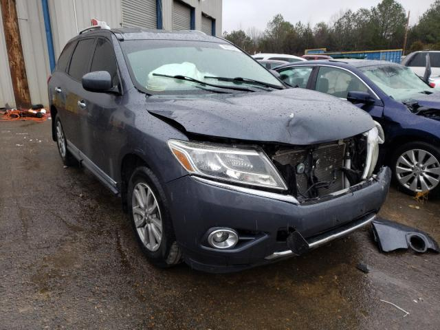 Nissan Pathfinder salvage cars for sale: 2014 Nissan Pathfinder