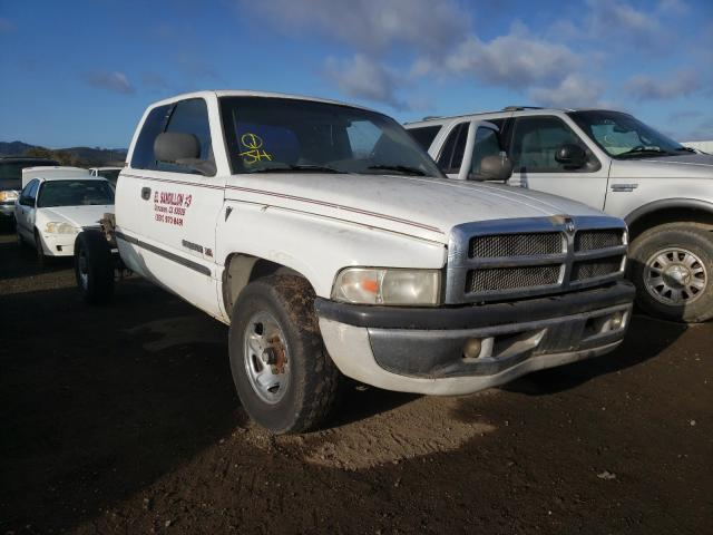Salvage cars for sale from Copart San Martin, CA: 1999 Dodge RAM 2500