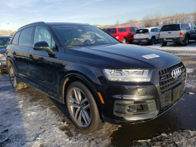 Salvage cars for sale from Copart Littleton, CO: 2018 Audi Q7 Prestige