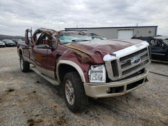 Salvage cars for sale from Copart Chatham, VA: 2008 Ford F350 SRW S