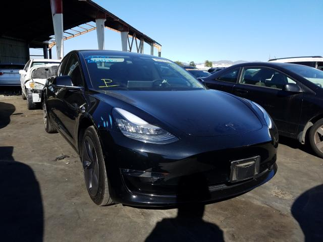 Salvage, Wrecked Vehicles Auctions Online   2019 TESLA ...