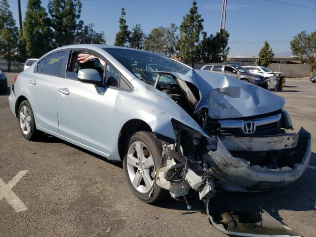 Salvage cars for sale from Copart Rancho Cucamonga, CA: 2012 Honda Civic Natu