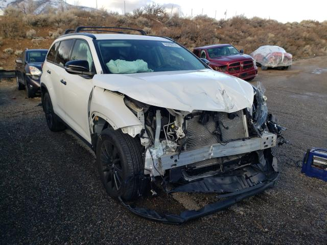 Salvage cars for sale from Copart Reno, NV: 2019 Toyota Highlander