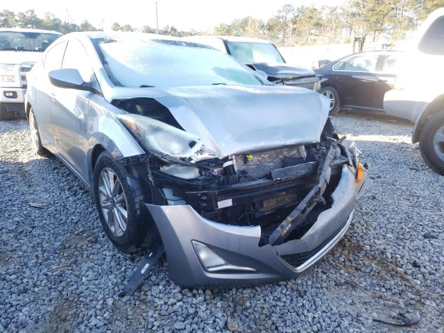 Salvage cars for sale from Copart Ellenwood, GA: 2016 Hyundai Elantra SE