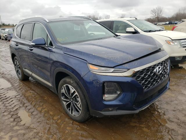 Salvage cars for sale from Copart Columbia Station, OH: 2020 Hyundai Santa FE L