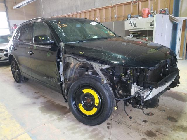 Salvage cars for sale from Copart Indianapolis, IN: 2016 Audi SQ5 Premium