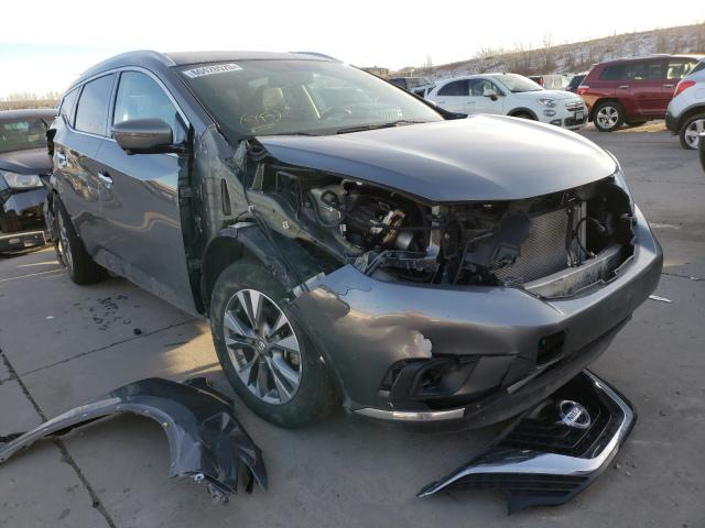 Salvage cars for sale from Copart Littleton, CO: 2018 Nissan Murano S