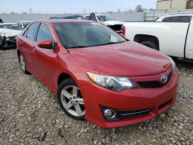 Salvage cars for sale from Copart Lawrenceburg, KY: 2012 Toyota Camry