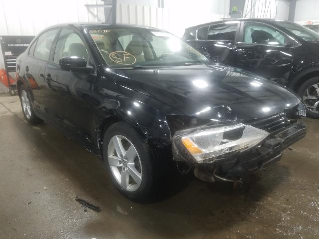 Salvage cars for sale at Ham Lake, MN auction: 2012 Volkswagen Jetta TDI