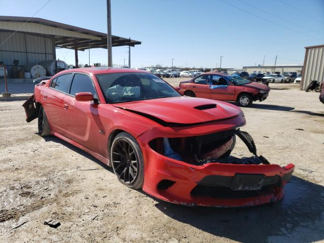 Salvage cars for sale from Copart Temple, TX: 2018 Dodge Charger R