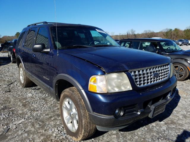 Ford Explorer salvage cars for sale: 2004 Ford Explorer