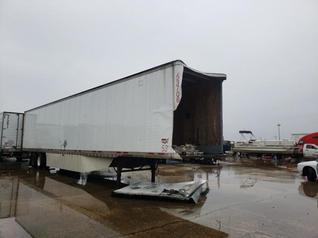 Wabash salvage cars for sale: 2006 Wabash 53'TRAILER