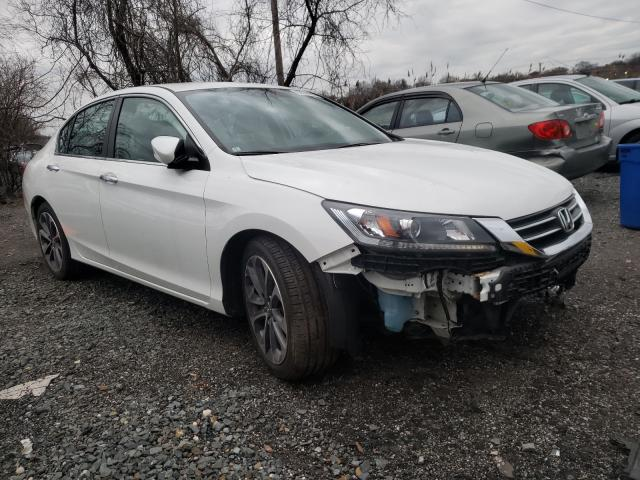 Salvage cars for sale from Copart Baltimore, MD: 2014 Honda Accord Sport