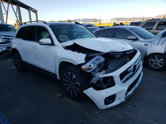 Mercedes-Benz salvage cars for sale: 2021 Mercedes-Benz GLB 250