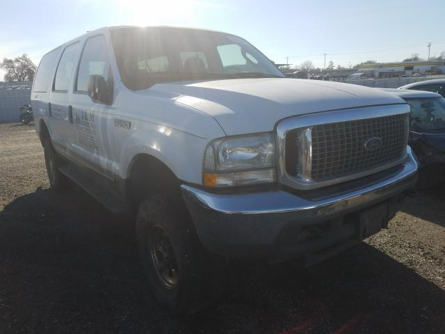 Salvage cars for sale from Copart Antelope, CA: 2004 Ford Excursion