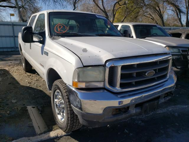 Salvage cars for sale from Copart Corpus Christi, TX: 2004 Ford F250 Super