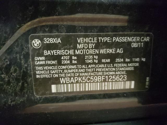 2011 BMW 3 series | Vin: WBAPK5C59BF125623