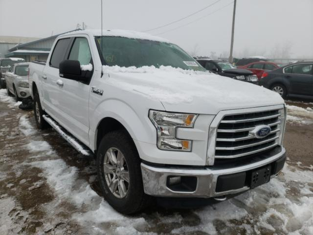 Salvage cars for sale from Copart Pekin, IL: 2015 Ford F150 Super