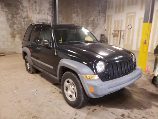 Salvage cars for sale from Copart Chalfont, PA: 2005 Jeep Liberty