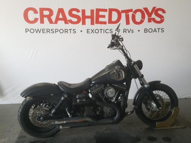 Salvage cars for sale from Copart San Diego, CA: 2015 Harley-Davidson Fxdbp Dyna