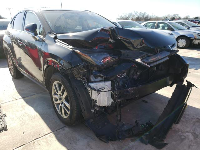 Salvage cars for sale from Copart Wilmer, TX: 2016 Lexus NX 200T BA