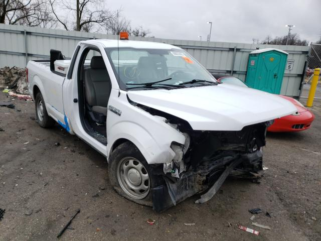 Salvage cars for sale from Copart West Mifflin, PA: 2017 Ford F150