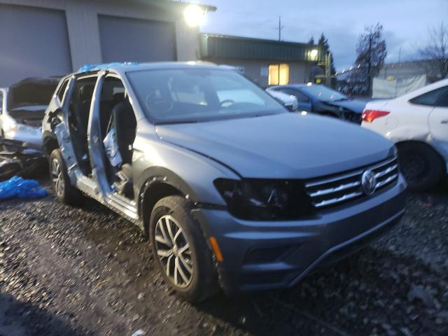 Salvage cars for sale from Copart Eugene, OR: 2020 Volkswagen Tiguan SE