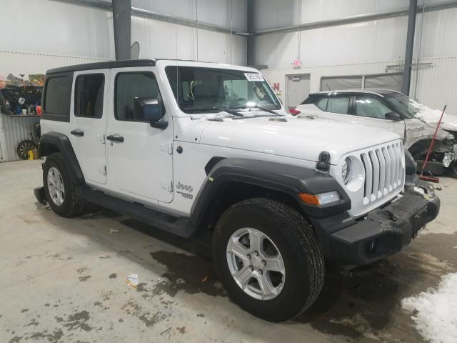 Salvage cars for sale from Copart Greenwood, NE: 2020 Jeep Wrangler U
