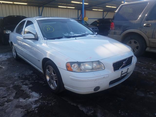 Volvo salvage cars for sale: 2006 Volvo S60 2.5T