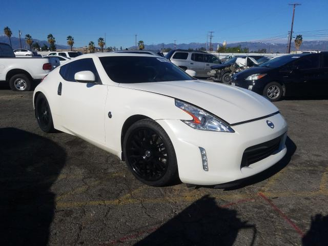 Salvage cars for sale from Copart Colton, CA: 2017 Nissan 370Z Base