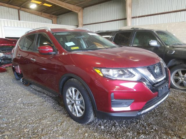 Salvage cars for sale from Copart Houston, TX: 2020 Nissan Rogue S