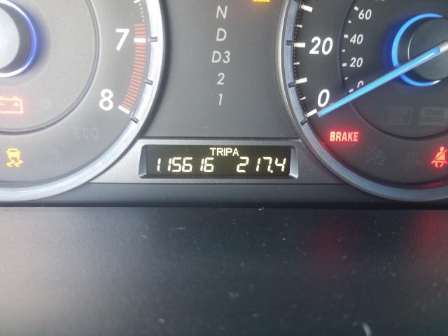 5J6TF2H54AL005705 2010 Honda Accord Cro 3.5L