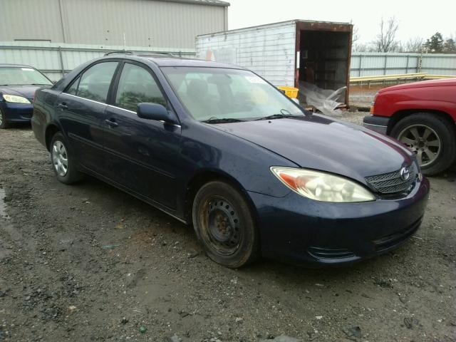 Salvage cars for sale from Copart Chatham, VA: 2002 Toyota Camry LE