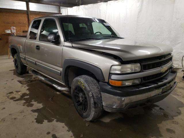 Salvage cars for sale from Copart Ebensburg, PA: 2002 Chevrolet Silverado