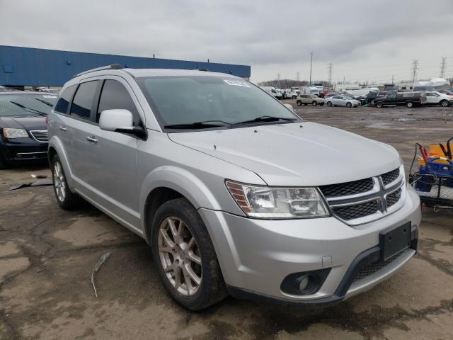 Salvage cars for sale from Copart Woodhaven, MI: 2011 Dodge Journey R