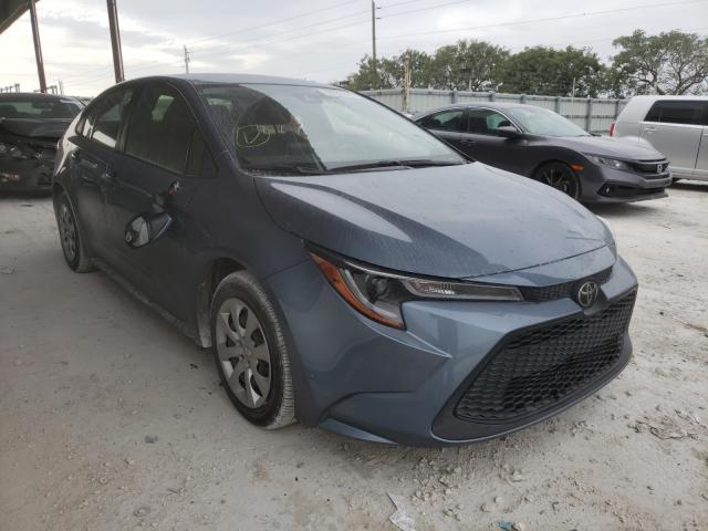 Salvage cars for sale from Copart Homestead, FL: 2020 Toyota Corolla LE