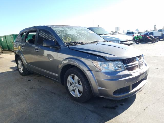 Salvage cars for sale from Copart New Orleans, LA: 2013 Dodge Journey SE