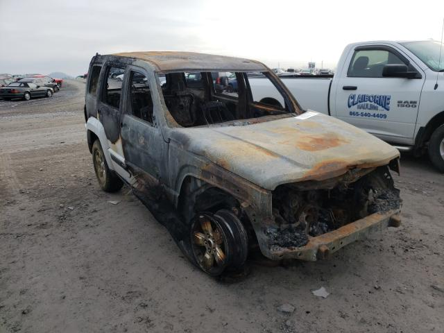 Salvage cars for sale from Copart Madisonville, TN: 2012 Jeep Liberty SP