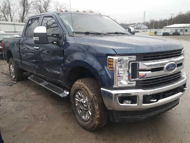 Salvage cars for sale from Copart West Mifflin, PA: 2019 Ford F250 Super
