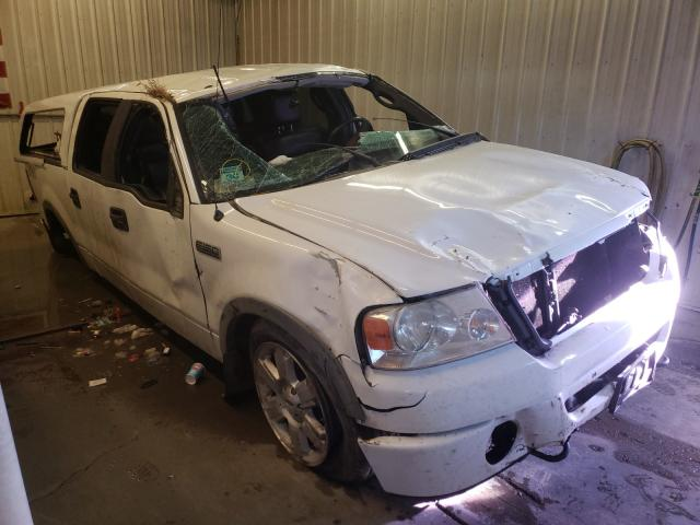 Ford salvage cars for sale: 2007 Ford F150 Super